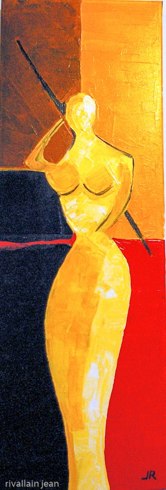Peinture abstraite Muse