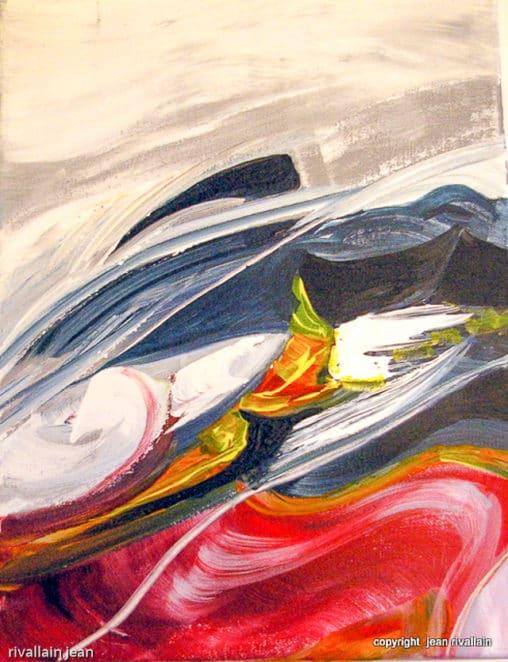 Peinture abstraite Moove