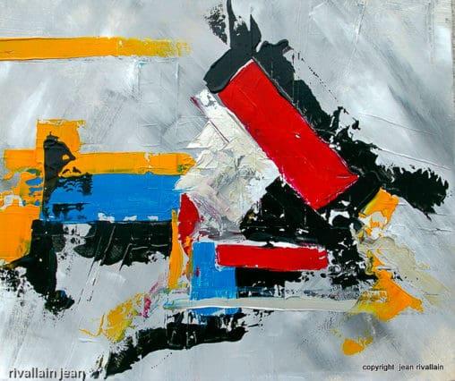 Peinture abstraite Burlesque