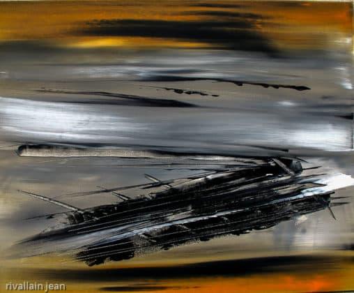Peinture abstraite apesanteur