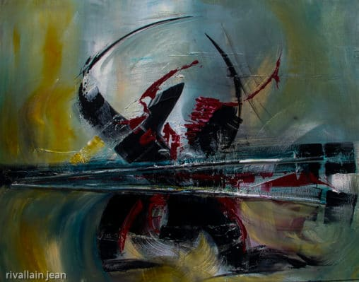 Peinture abstraite contemporaine