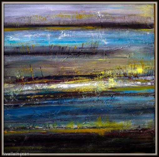 Peinture abstraite nature